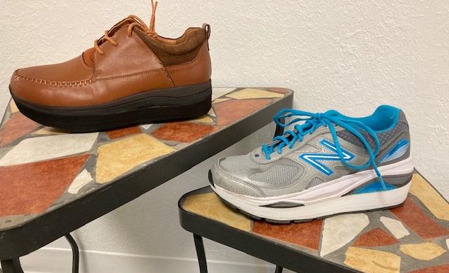 heel and sole lift shoe modification